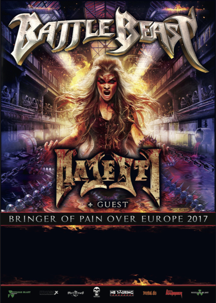 Large battle beast tourflyer a6 blanco