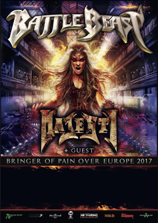 Medium battle beast tourflyer a6 blanco