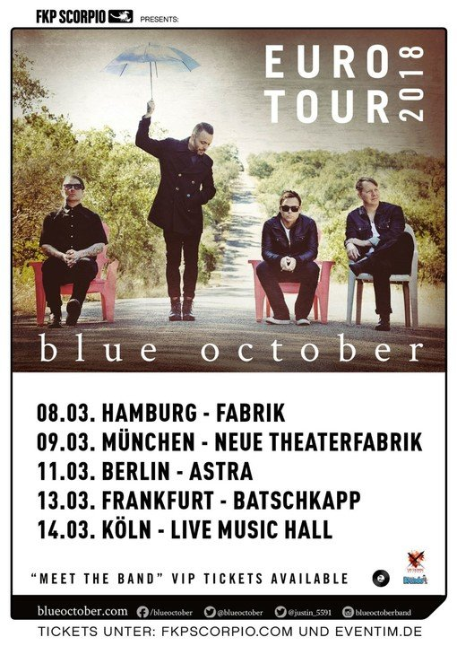 Medium blue october berlin