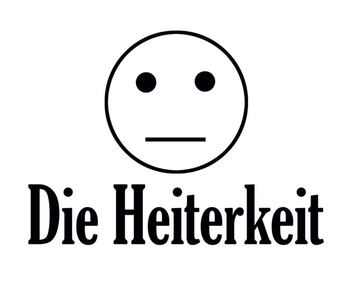 Medium dieheiterkeit logo schwarz auf weiss