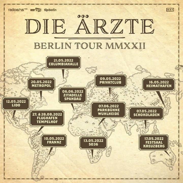 Medium die a rzte berlin tour