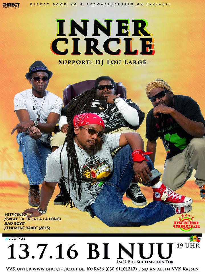 Large inner circle web