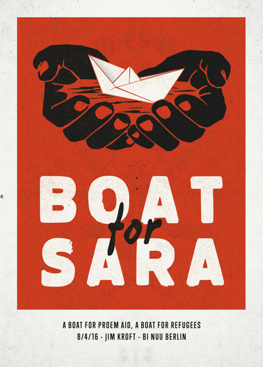 Medium boat for sara 8 april flyer front