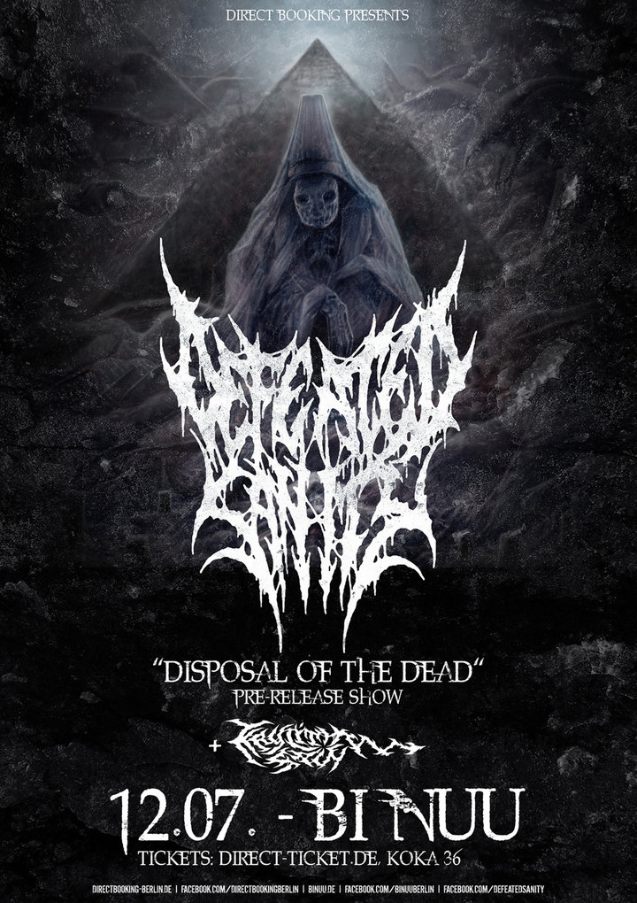 Large defeated sanity web