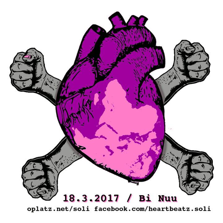 Large heartbeatz sticker opti