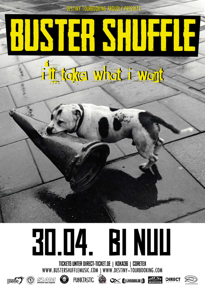 Large poster buster shuffle illtakewhatiwant tour2018 berlin web