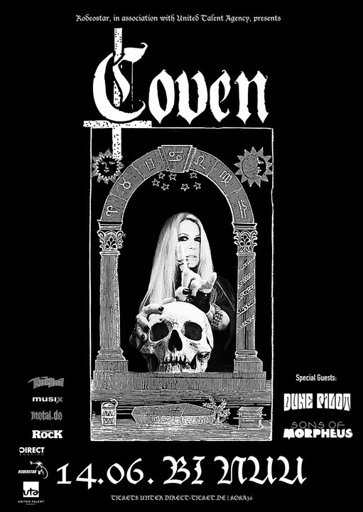 Medium coven germany tour poster blank2 web
