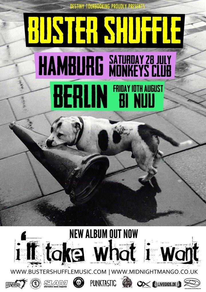 Large new hambur and berlin shows