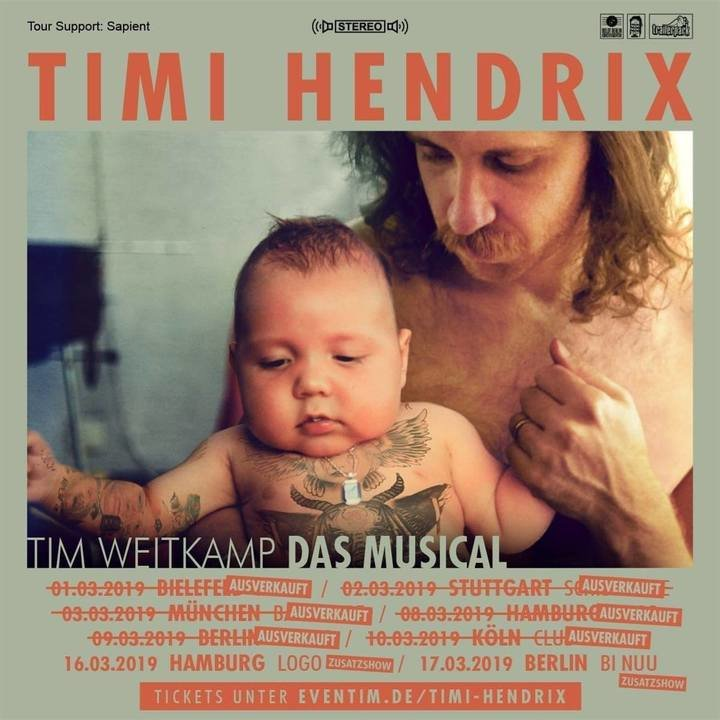 Medium timi hendrix