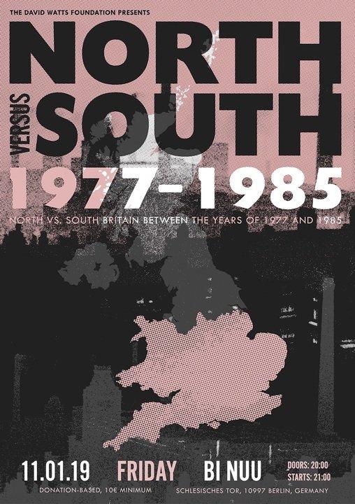 Medium 11th jan the david watts foundation north vs south olya dyer gig poster ig