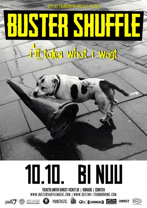 Medium poster buster shuffle illtakewhatiwant tour2018 berlin web