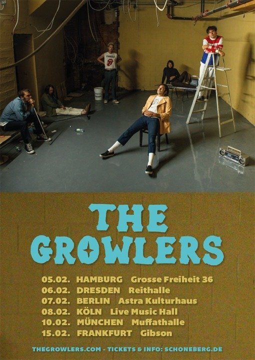 Medium the growlers plakat