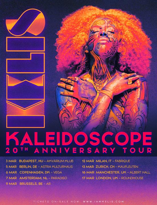 Medium kelis tour flyer
