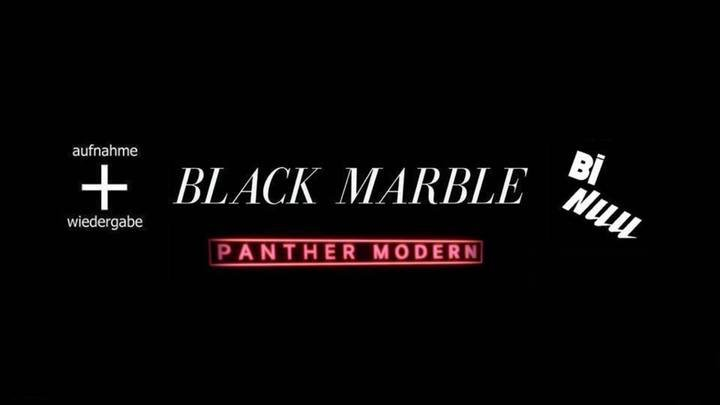Medium black marble