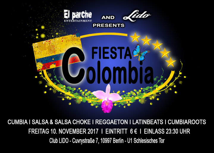 Medium flyer fiesta colombia