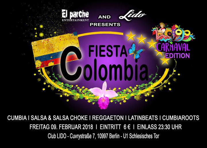 Medium flyer fiesta colombia