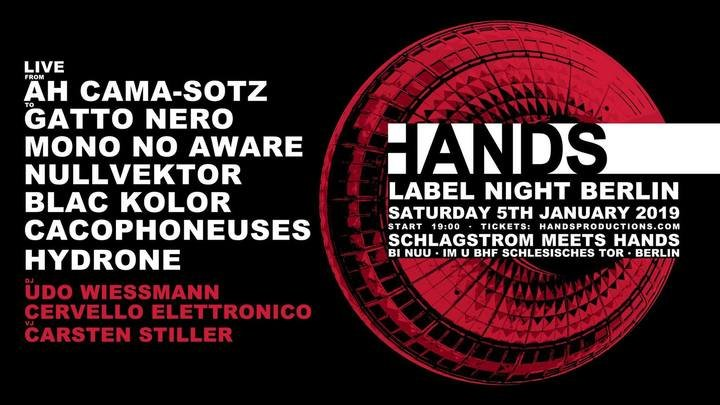 Medium hands label night