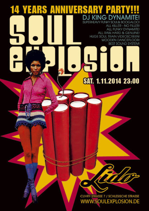 Soul explosion party berlin